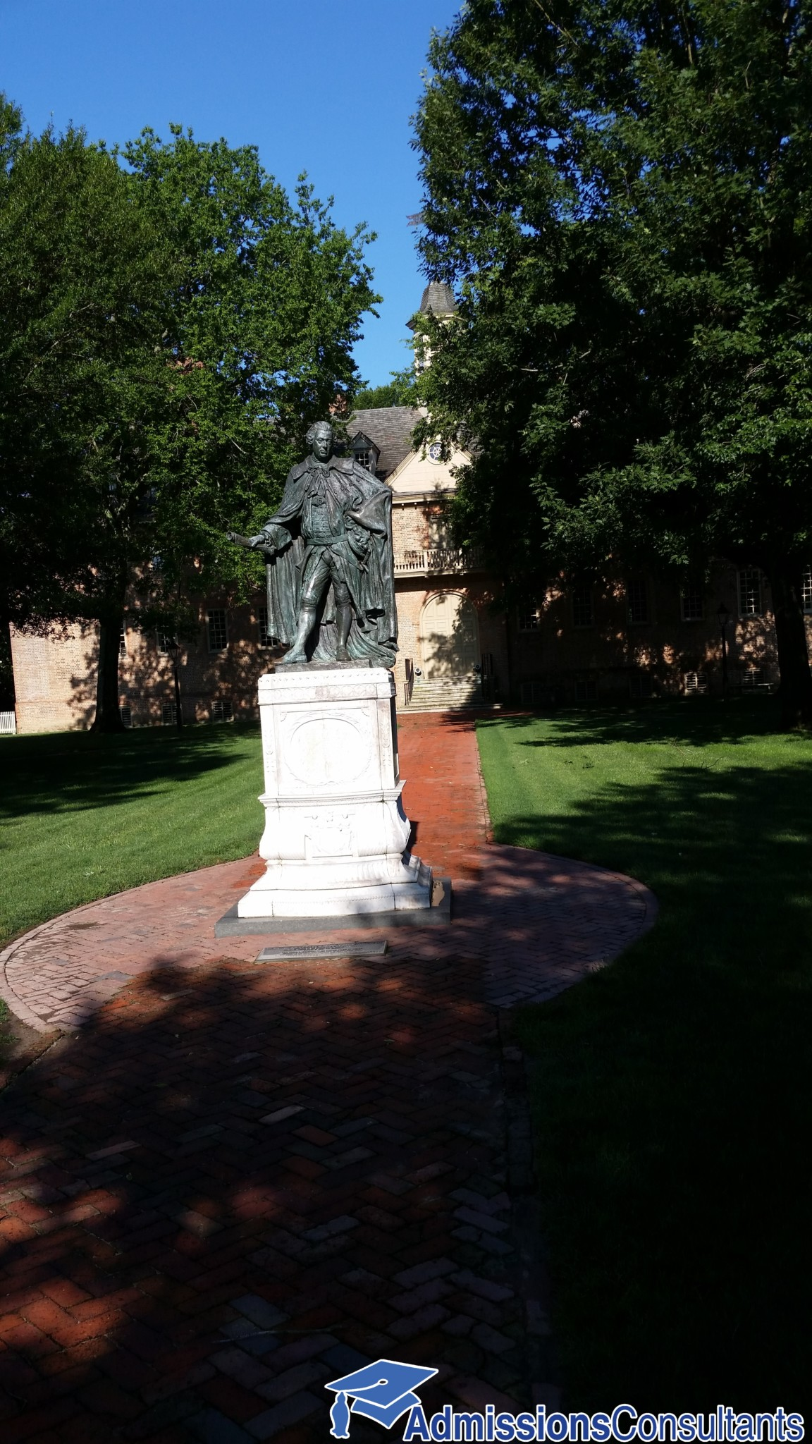 William & Mary statue