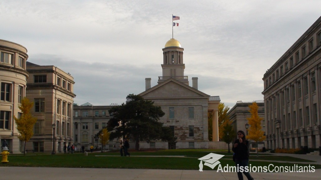 University of Iowa admission