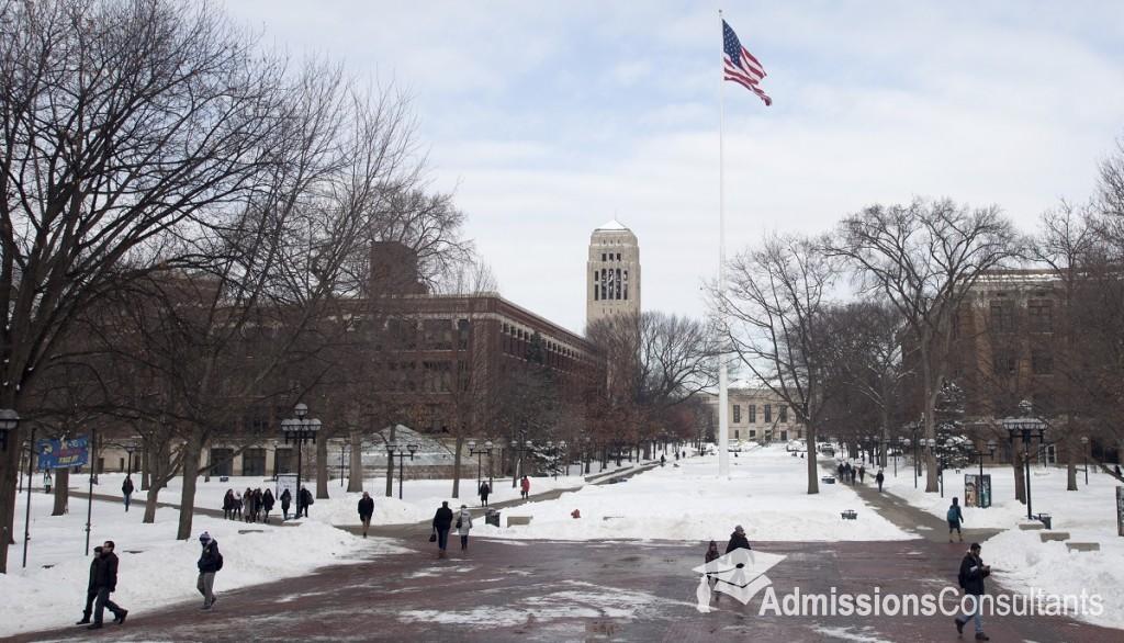 University of Michigan admissions
